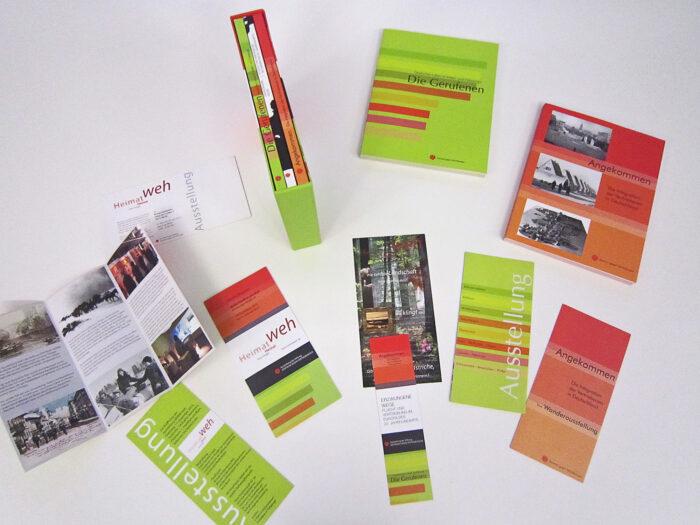 Mediendesign Ausstellung HEIMATWEH