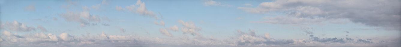 Weite Wolkenhimmel xxl als Wandgestaltung